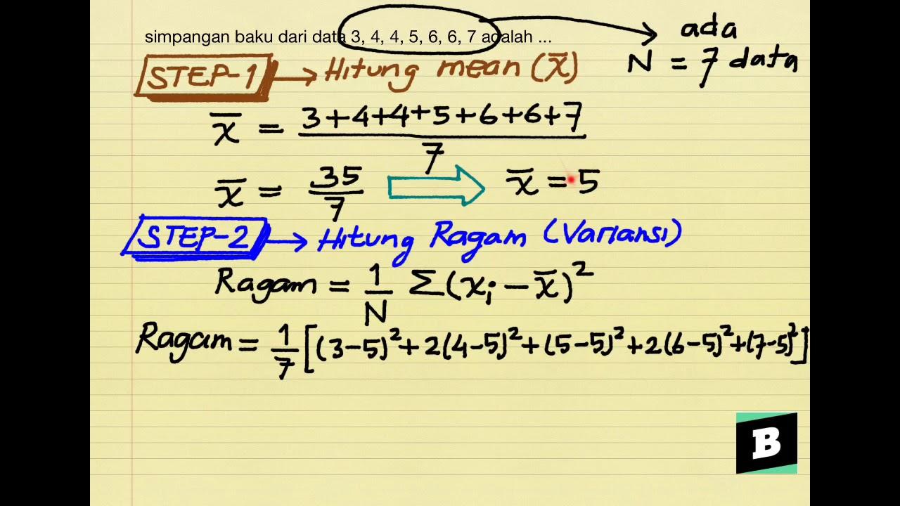 42+ Simpangan baku dari data 10 2 6 8 4 adalah information