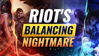 Riot's Balancing Nightmare: Why They Fail to Balance These Champions - League of Legends Season 9