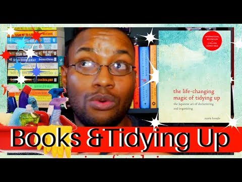 Tidying Up Books (My Kondo Experience)