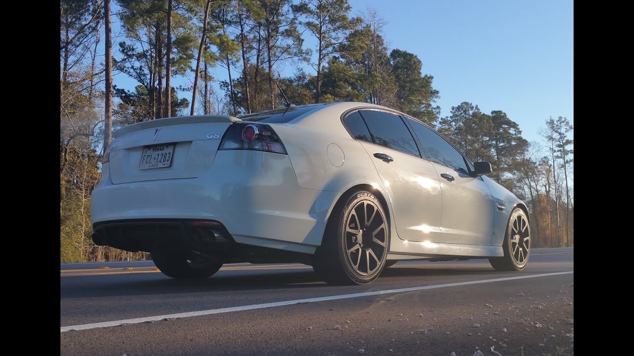 Basic bolt-ons get the Pontiac G8 GT to 400 horsepower