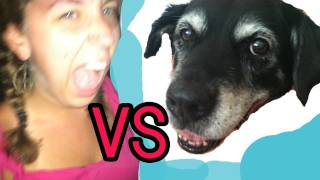 DOG vs GIRL?!