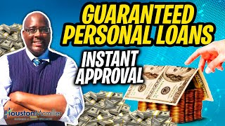 5 Best Guaranteed Personal Loans Online For Bad Credit Instant Approval 2021