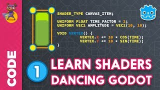 Godot Shader Tutorial (1): Intro to Shader Programming by GDQuest
