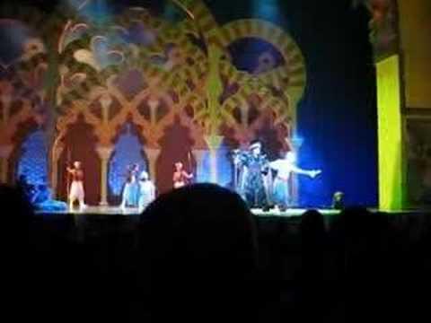 Genie Telling Jokes (Aladdin Musical)