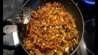 Macaronie maken: Macaroni met groenten en gehakt