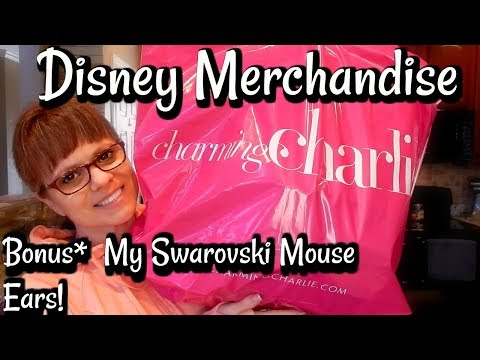 CHARMING CHARLIE DISNEY MERCHANDISE HAUL