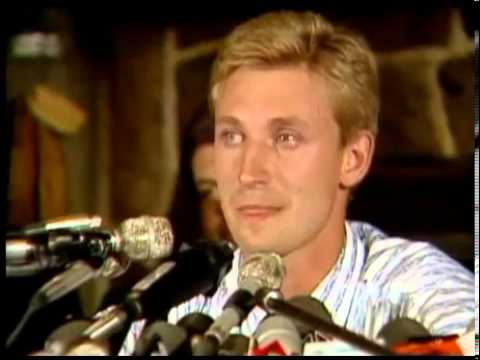 8/9/88 - Gretzky Press Conference (Full)