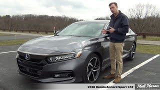 Review: 2018 Honda Accord Sport 1.5T (Manual) - It Will Surprise You!