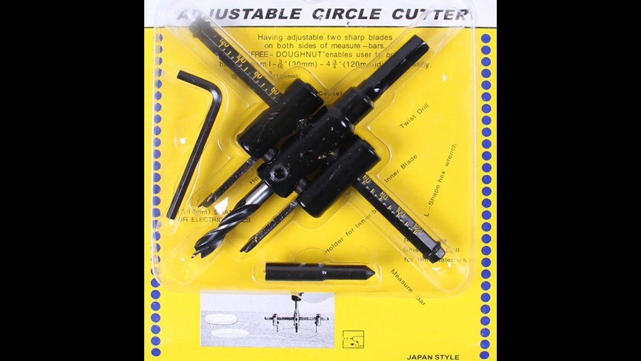 Резак для сверлений отверстий по дереву(балерина) 30 мм - 120 мм .