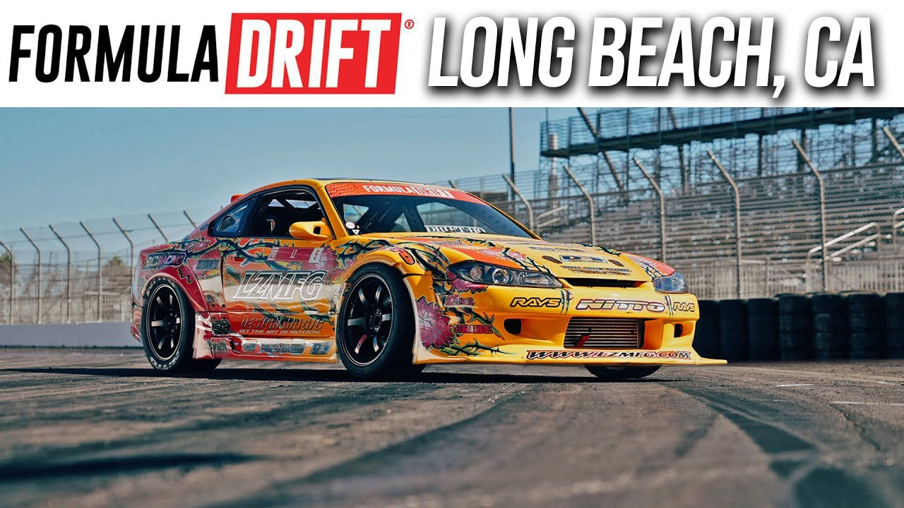 Download First Time Drifting Downtown Long Beach (Media Day)