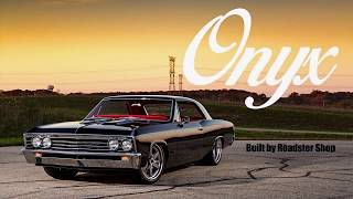 Onyx Chevelle build by Roadster Shop