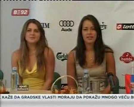 Serbian Fed Cup Representation - Belgrade Press Conference