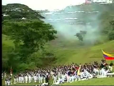 Escenificacin de Batalla de Carabobo  YouTube