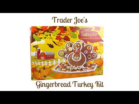 FoodMania Review: Trader Joe's Gingerbread Turkey Kit