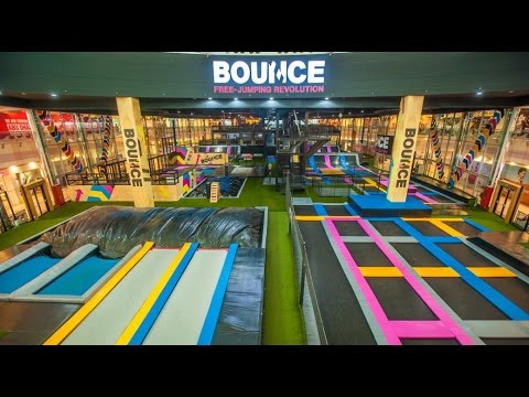 Best trampoline park BOUNCE in AbuDhabi