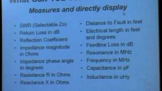 MFJ Presentation: Antenna Analyzer Product Line PART 1 OF 3