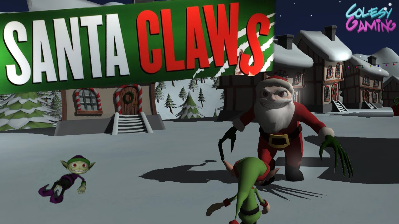 SCARY CHRISTMAS | Santa Claws | Indie Game - YouTube