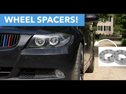 Installing Wheel Spacers Bmw E90 Youtube