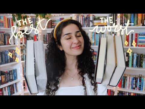 the best and worst books i've read so far this year ✨
