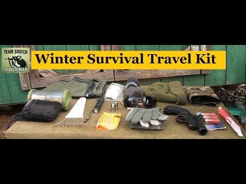 Winter Survival Travel Gear