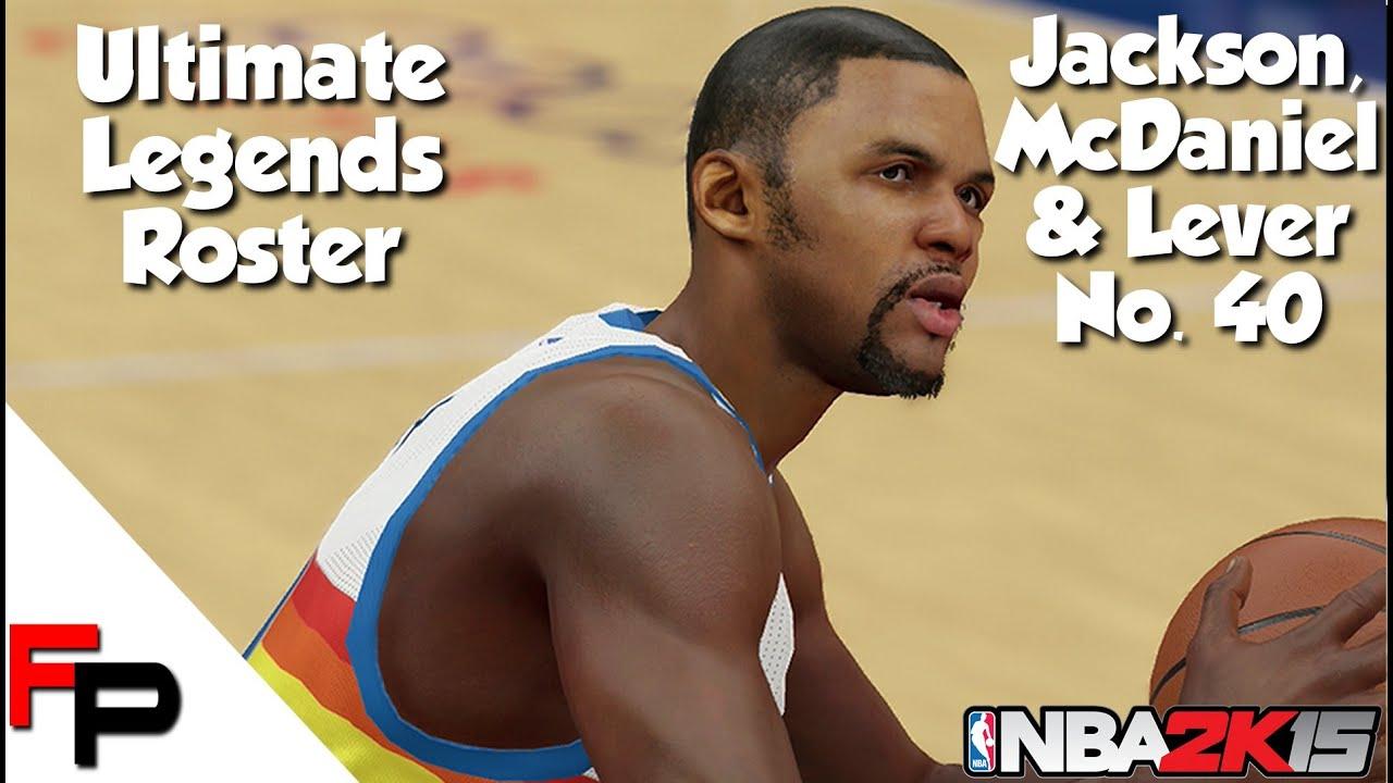 NBA 2K15 Jimmy Jackson Xavier McDaniel & Fat Lever Ultimate