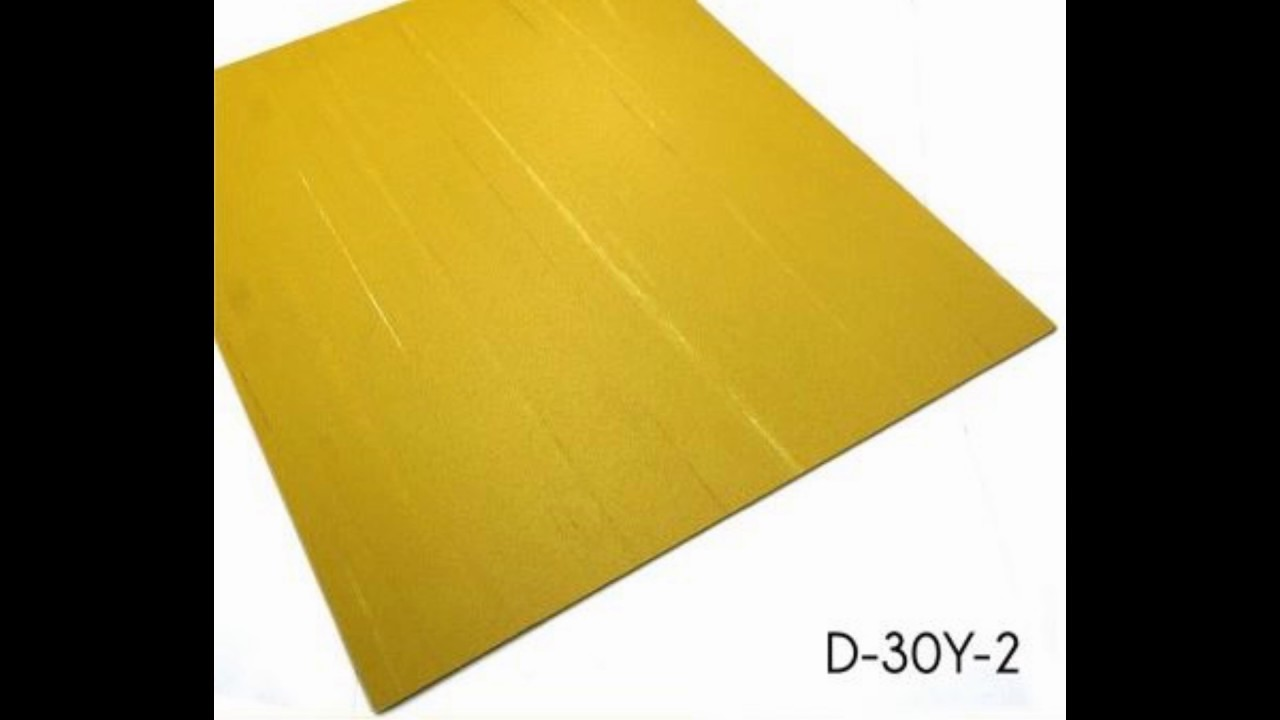 Non Slip Homogeneous Square Quartz PVC Floor Tiles Suppliers - YouTube