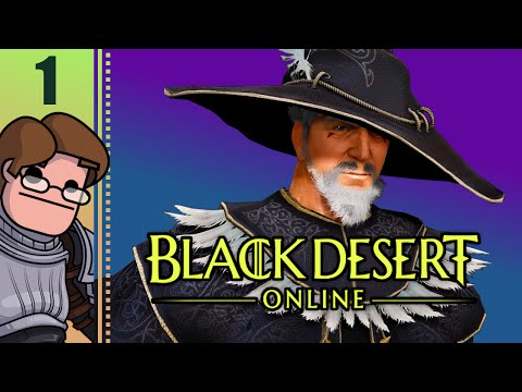 Let's Play Black Desert Online Co-op Part 1 - Kaiious the Wizard & Blasto the Warrior (English)