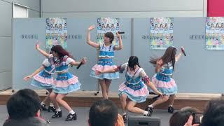 デックス東京ビーチで行われたAnge☆Reve「イトシラブ」のリリースイベント.