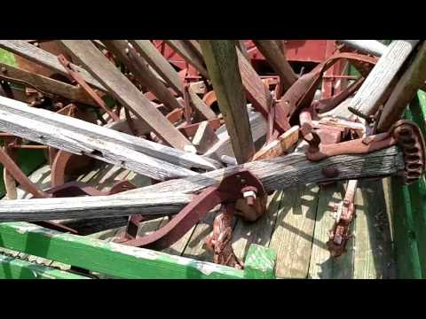 ANTIQUE farm equipment collection - hand plows for sale