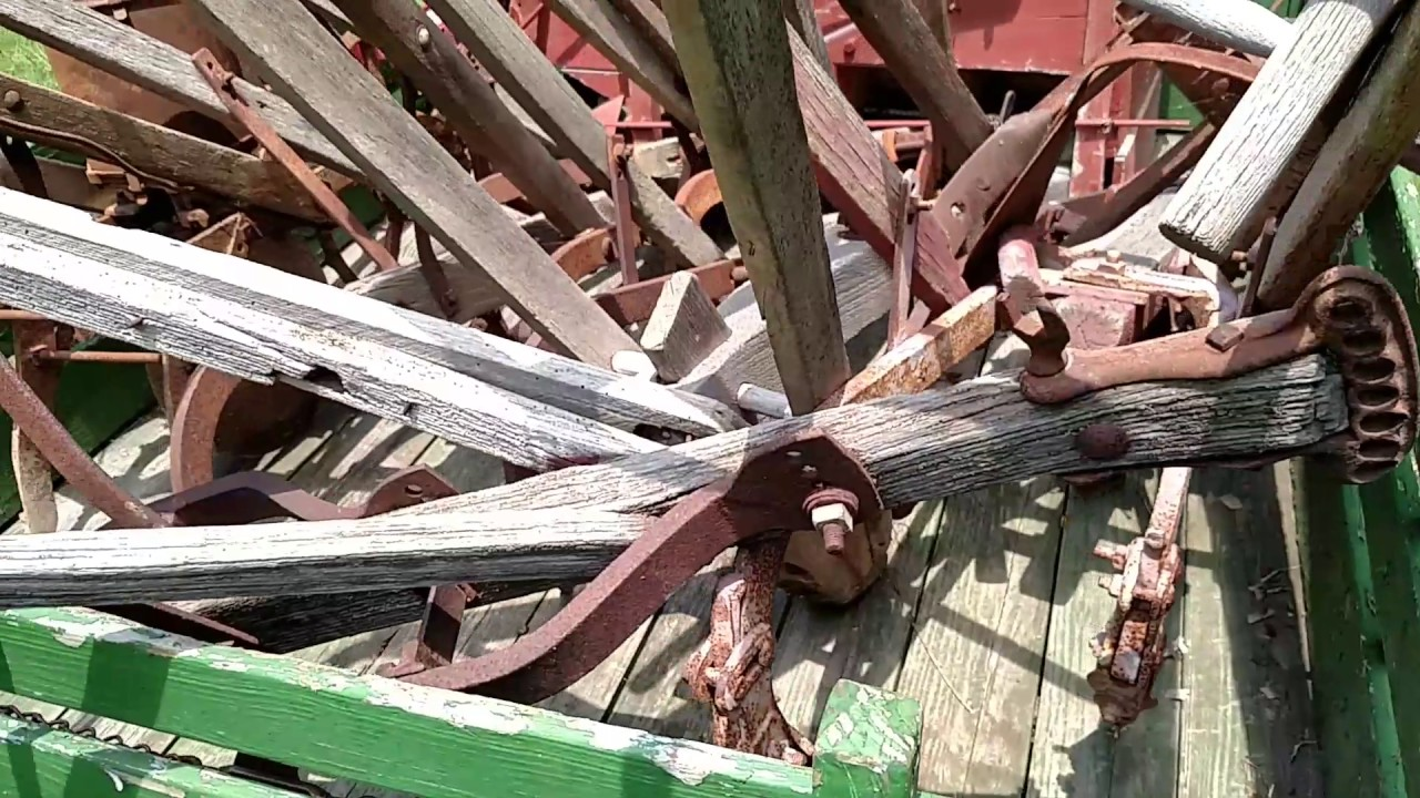 Antique Farm Equipment Collection Hand Plows For Sale Youtube