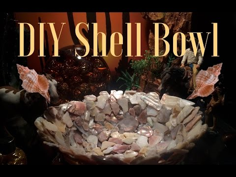 How To Make: Shell Bowl Tutorial #4