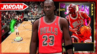 G.O.A.T MICHAEL JORDAN GAMEPLAY! THEY MADE HIM GOD TIER....BUT IS HE WORTH IT? NBA 2k21 MyTEAM