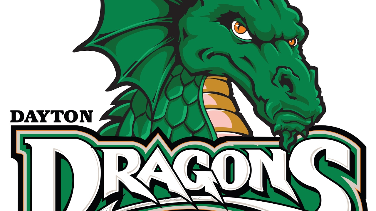 Dayton Dragons Logo Tracing - Illustrator Pen Tool - YouTube