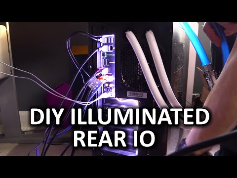 Create Your Own Illuminated Rear IO - DIY Project