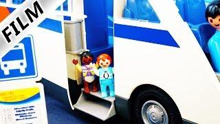 Playmobil Film deutsch   EMMA & MALIK HAUEN AB - Kita Kinder alleine auf Reisen   Familie Vogel