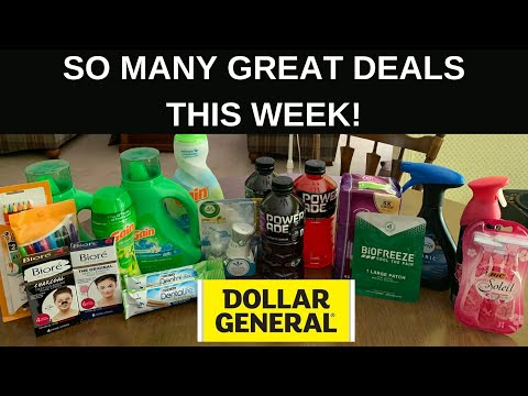 DOLLAR GENERAL $5 OFF $25 // SO MANY GREAT DEALS THIS WEEK 😍😍