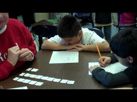 2nd grade word work--writing sort