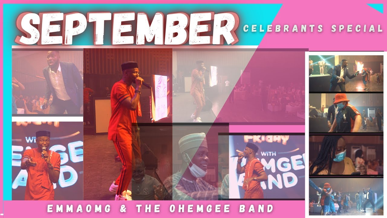 Download SEPTEMBER CELEBRANTS Special | EmmaOMG & The OhEmGee Band
