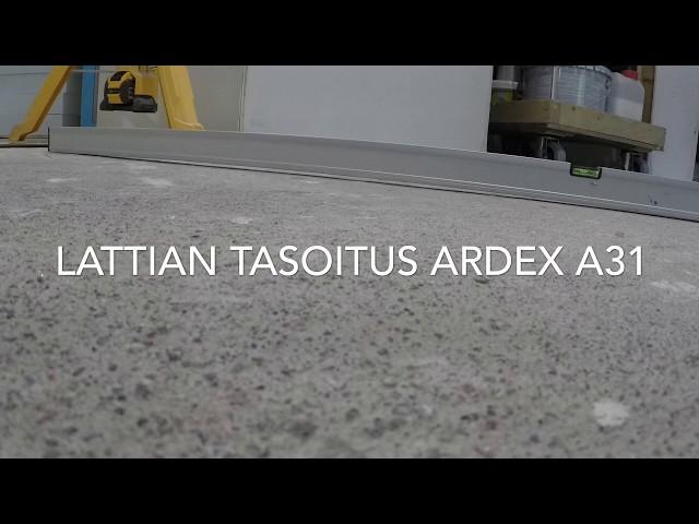 Lattian tasoitus Ardex A31