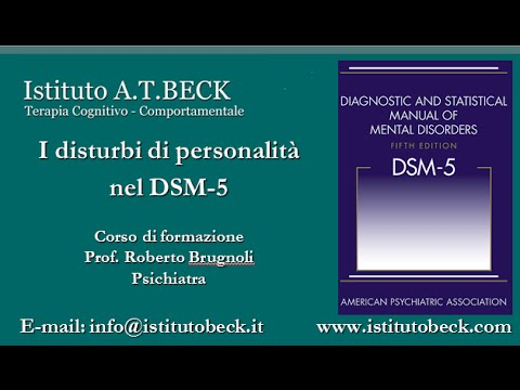 I disturbi personalità nel DSM-5