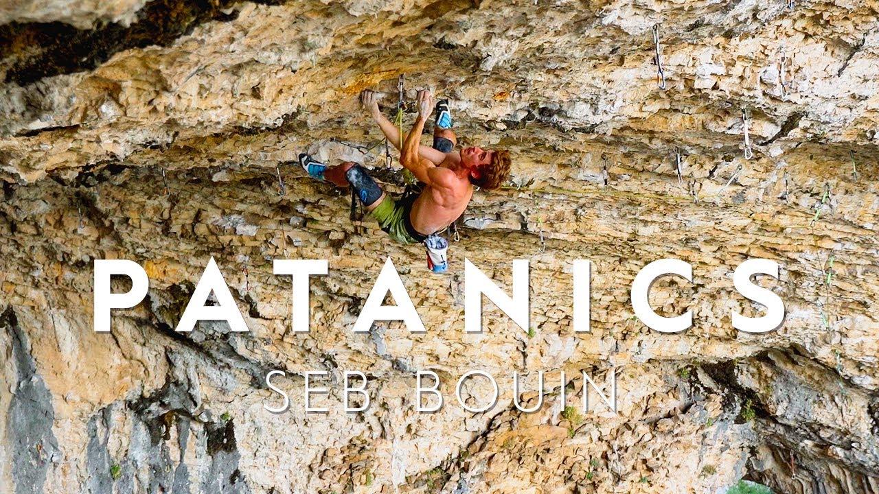 Download Seb Bouin's Epic Ascent Of Patanics, 9b, Rodellar
