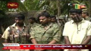 3 LTTE Cadres Surrendered to Army. Wanni Operation 14 th January 2009