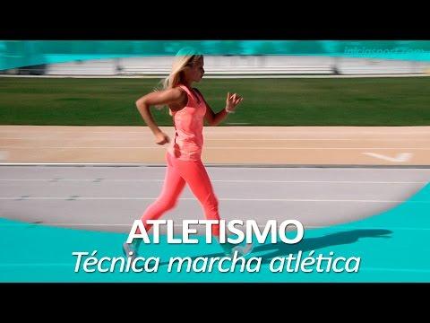 ATLETISMO 7 | Técnica para marcha atlética