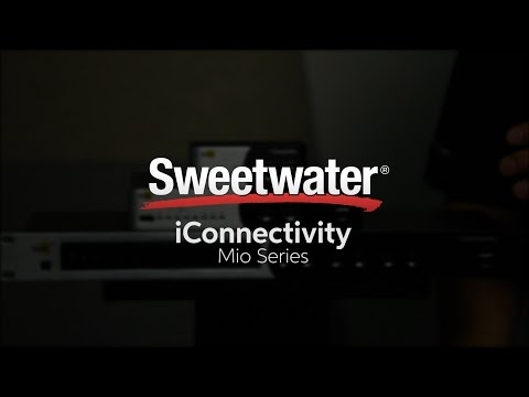 iConnectivity mio Series USB/MIDI Interfaces Overview by Sweetwater