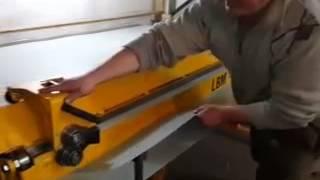 Листогиб Metal Master LBM 200, 250, 300 видео отзыв клиента.(Отзыв клиента о листогибочном станке Metal Master LBM 200., 2014-07-29T06:49:39.000Z)