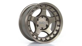 FUEL AUTOTEK Media: Black Rhino Wheels – Bantam in Bronze