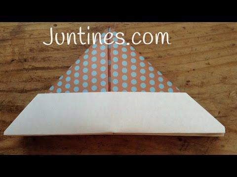 Manualidades de origami: Gorro de papel, una idea muy fácil