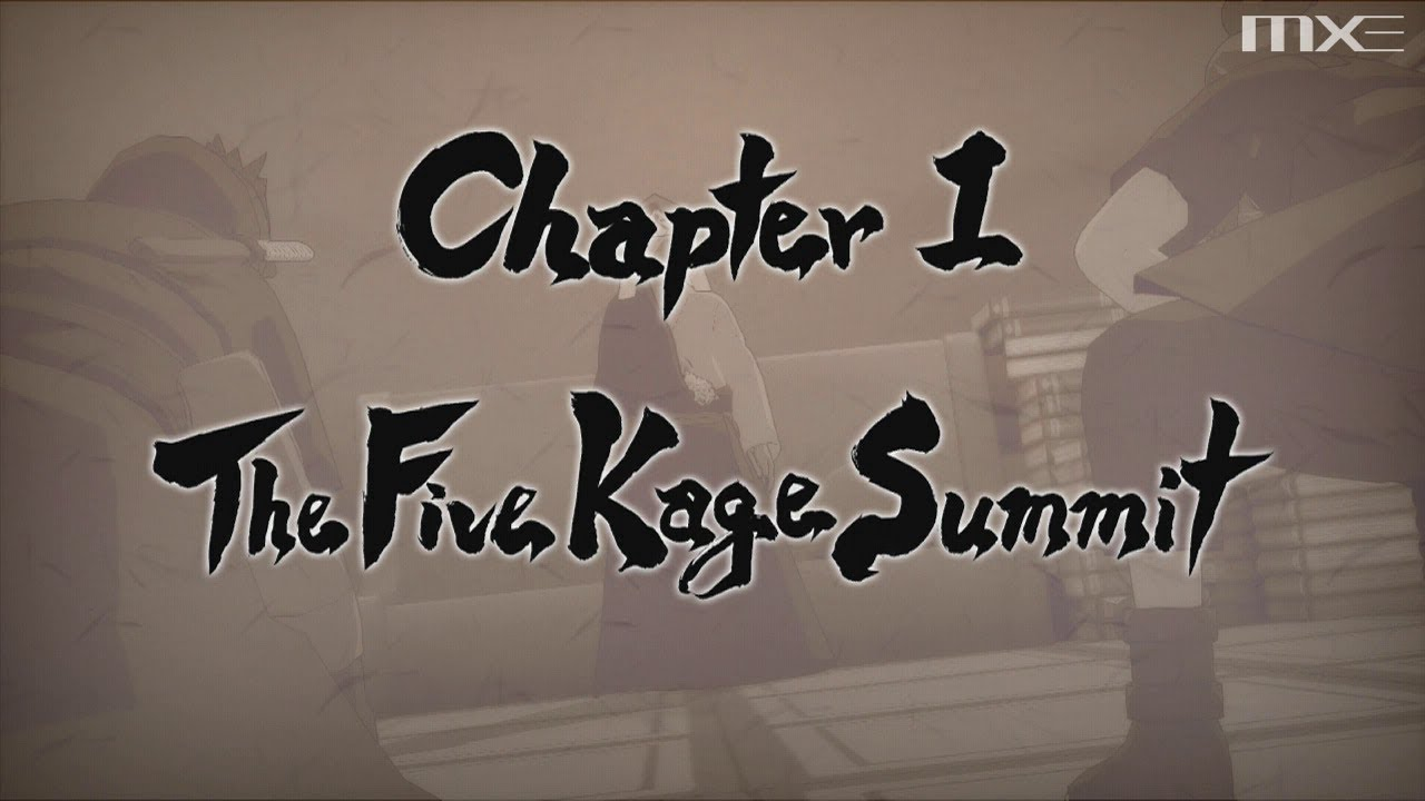 naruto ultimate ninja storm 3 chapter 1