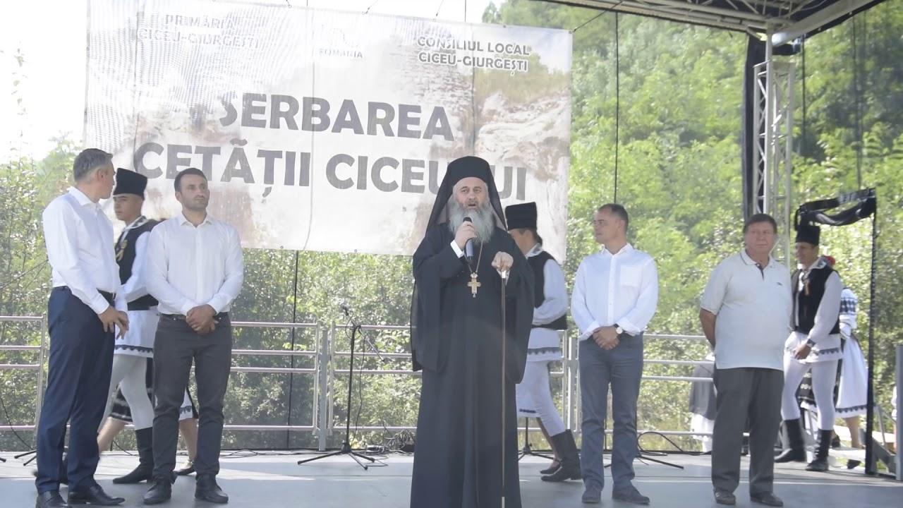 Arhim  Dumitru Cobzaru - Cuvant la Sarbatoarea Cetatii