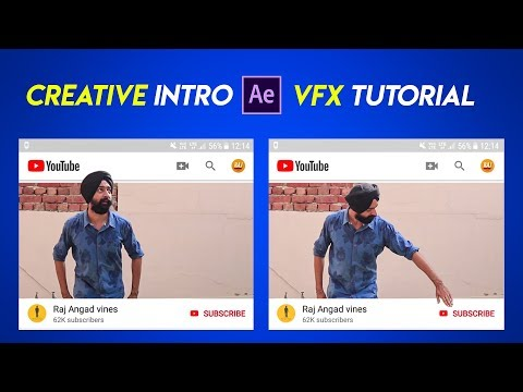 Creative Youtube Intro | After Effects Tutorial in Hindi